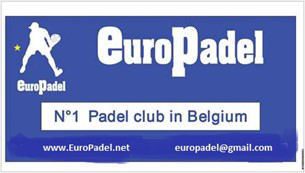 First ever EuroPadel banner (2012)