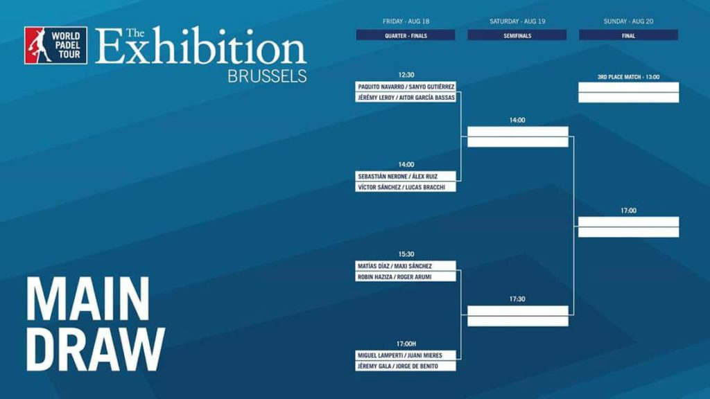 WPT Brussels draw