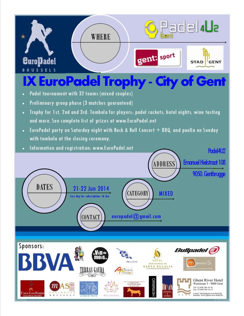 IX Torneo EuroPadel Gante
