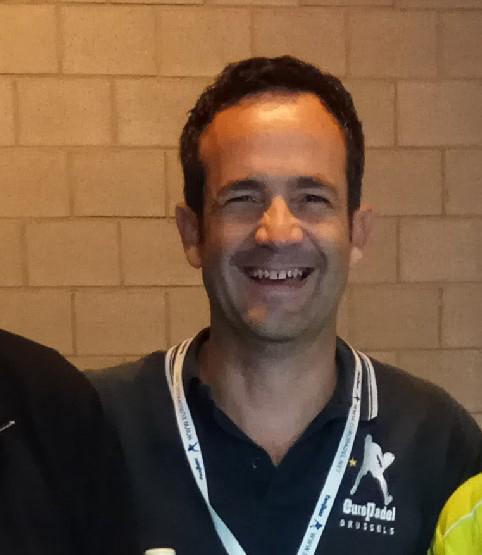 Curro Bravo - EuroPadel President
