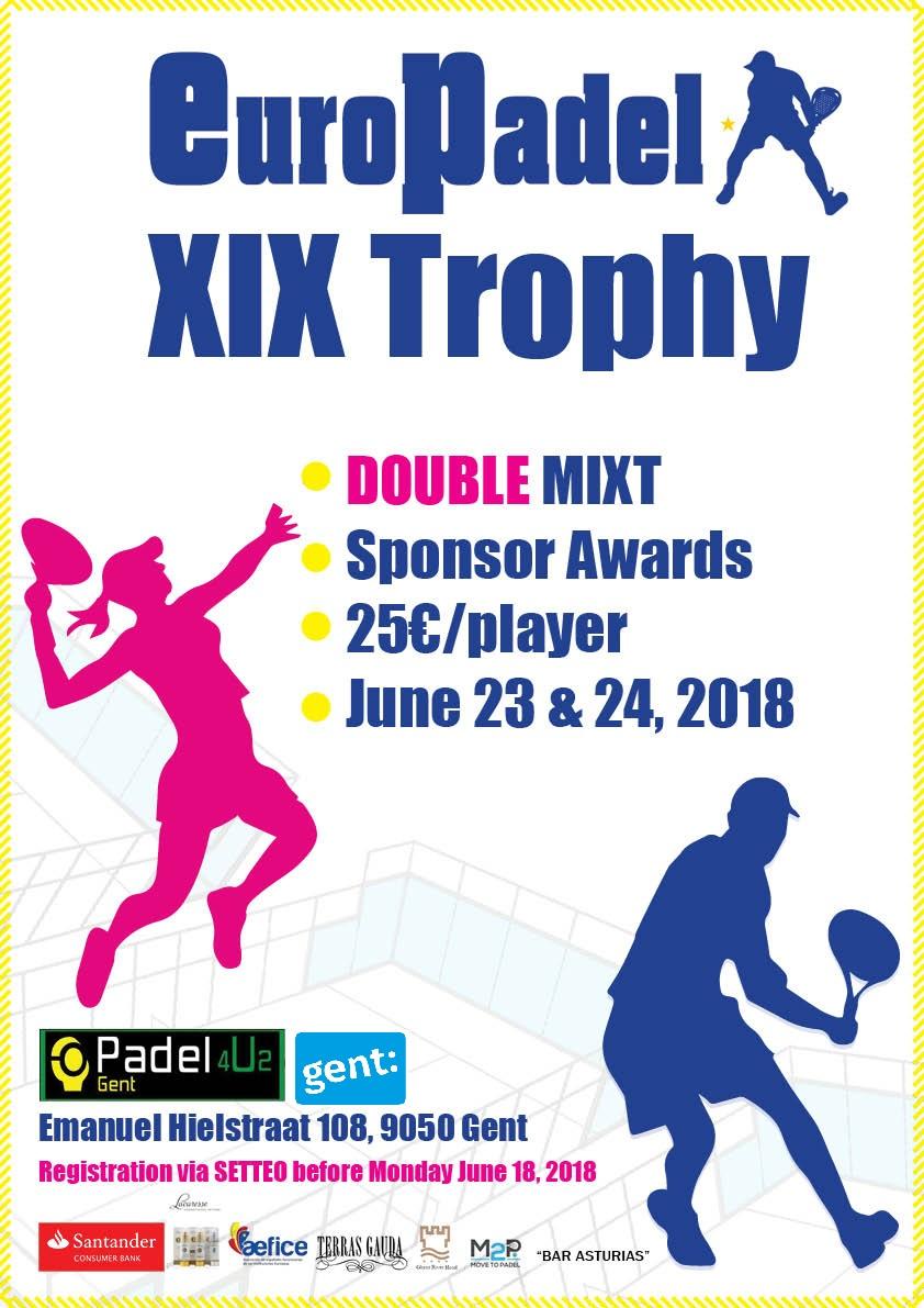 XIX EuroPadel Trophy